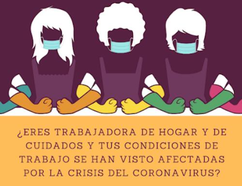 Trabajadoras del Hogar y Cuidados ante la crisis del Coronavirus