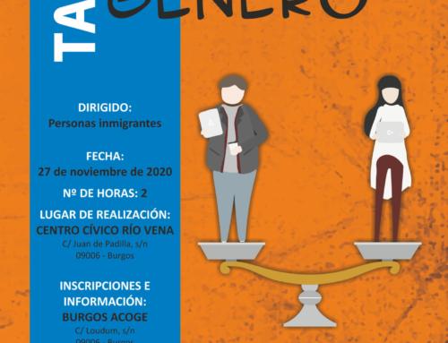 TALLER Empleo y Género (27 de noviembre)
