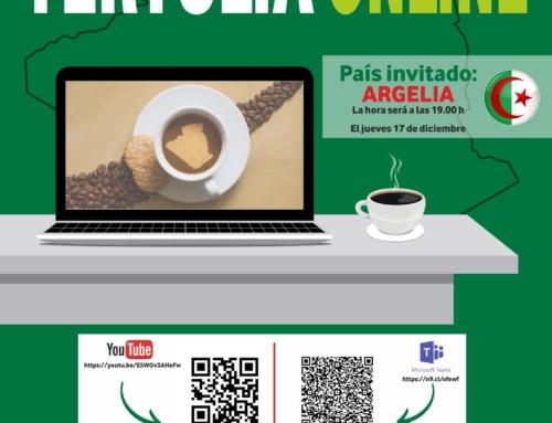 CAFÉ TERTULIA. País invitado: ARGELIA (formato online)