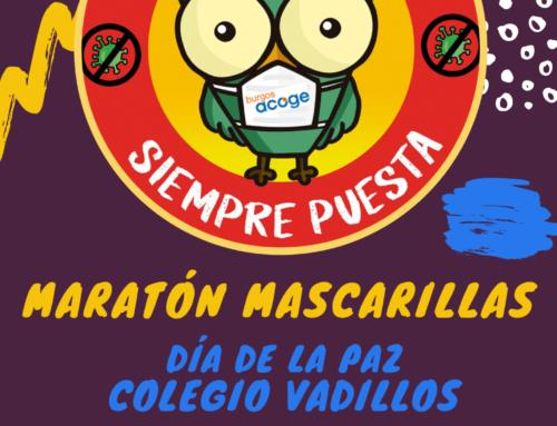 MARATÓN DE LAS MASCARILLAS en colaboración con CEIP Los Vadillos